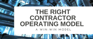 The right Contractor Operating Model